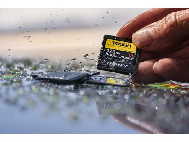 Sony unveils world's toughest and fastest SD card, price starts at Rs 13,290