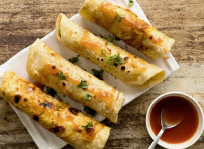 5 types of roll recipes to try this Durga Puja