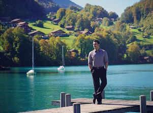 Ranveer enjoys some downtime in Switzerland