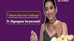 "Digangana Suryavanshi takes ""1 minute Pani Puri"" challenge on birthday"