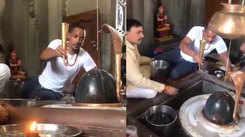 Will Smith performs Rudra Abhishek in Haridwar