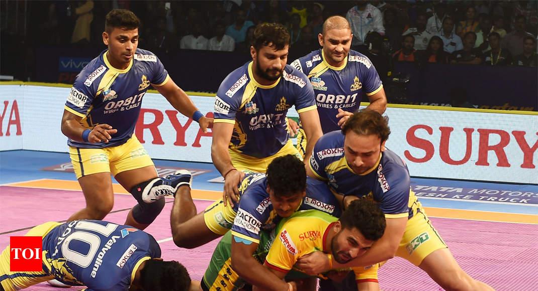 big matches today pkl bengaluru bulls vs tamil thalaivas more sports news times of india. Black Bedroom Furniture Sets. Home Design Ideas