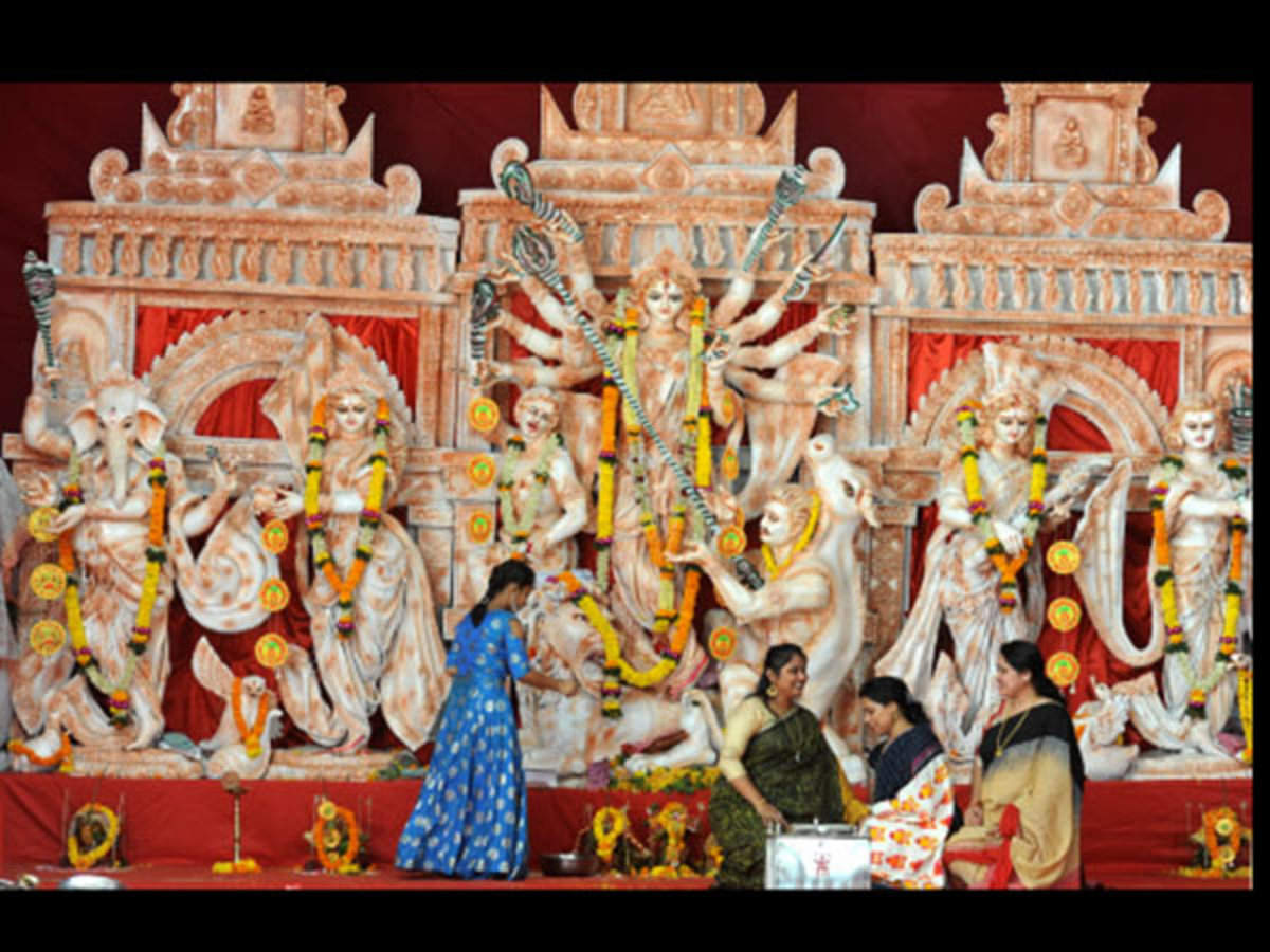 Festival with a purpose - Durga Puja pandals reach out for social causes |  Mumbai News - Times of India