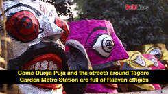 Lesser takers of Raavan effigies in Delhi this year