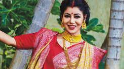 Debina Bonnerjee talks about celebrating Durga Puja in Mumbai