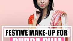 Festive Make-up for Durga Puja