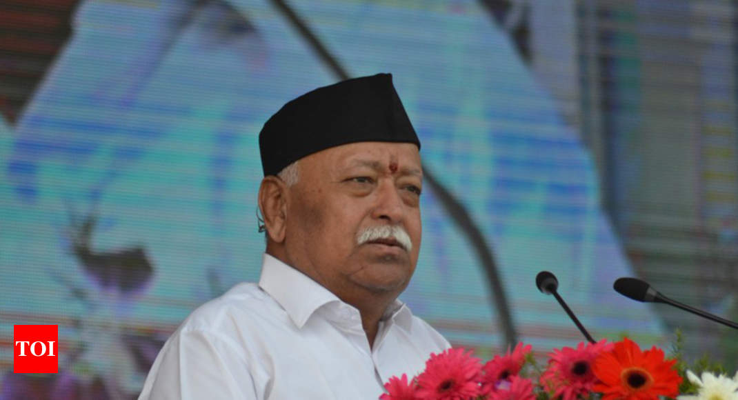 Construction of Ram temple is necessary for 'self-esteem': RSS chief Mohan Bhagwat - Times of India ► thumbnail