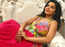 Photo: Monalisa looks pretty as a peach in her floral pink attire