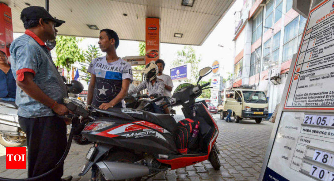 Oil companies cut petrol price by 21 paise, diesel to cost 11 paise less thumbnail