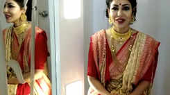 Debina Bonnerjee talks about dressing up in traditional attire during Durga Puja