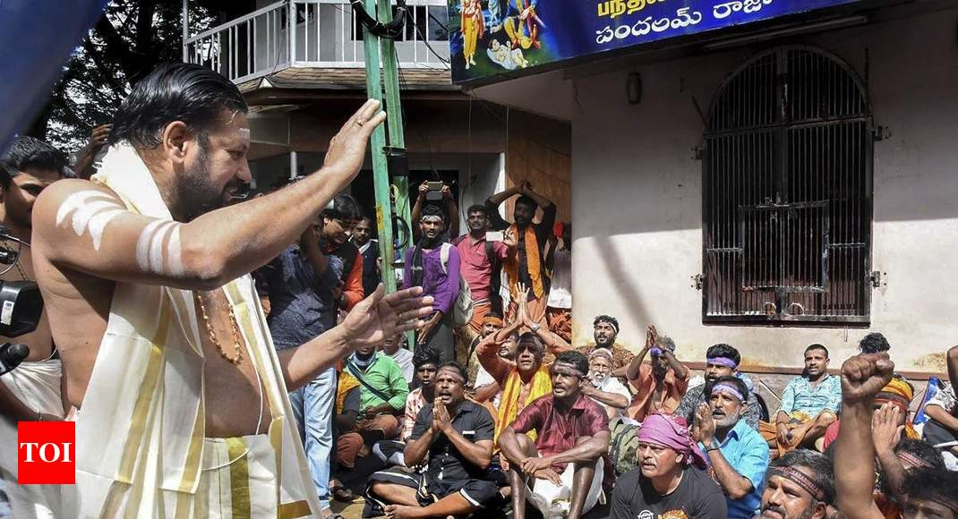 Sabarimala head priest appeals to young women not to visit hill shrine thumbnail