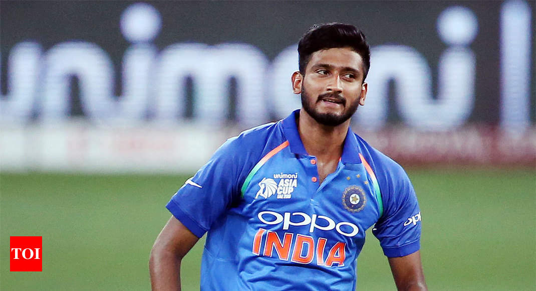 India Vs West Indies Khaleel Ahmed A Symbol Of Indias Rising Pace