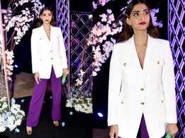 Sonam Kapoor just wore a daring combination
