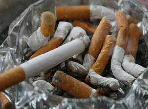 Men's nicotine exposure can harm their unborn child