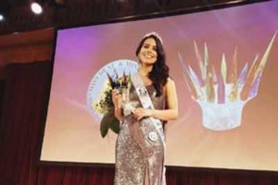 Haryana girl crowned Miss Deaf Asia 2018