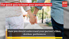 Love Quiz: Can you answer these 7 questions about your partner