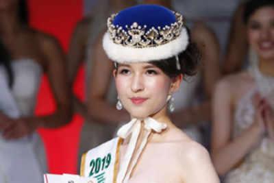 Tomomi Okada crowned Miss International Japan 2019