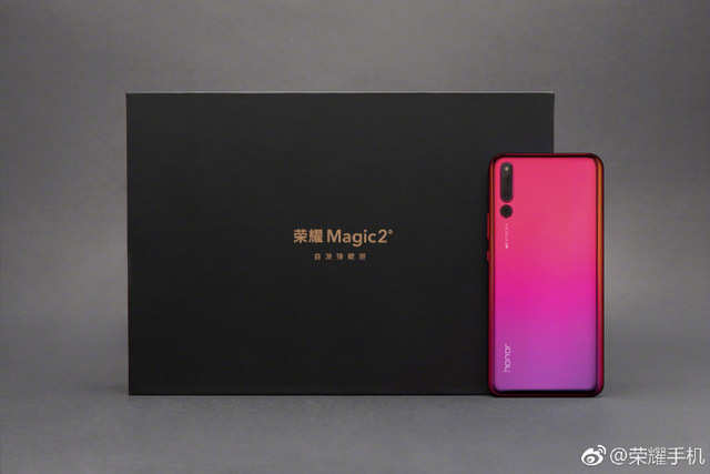 Honor Magic 2 official images posted by company