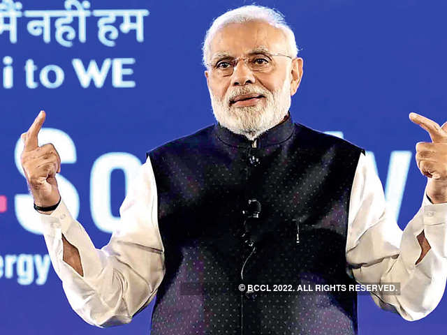 PM Modi said since India has already become the third largest startup base in the world, social startups should become an intrinsic part of the ecosystem.