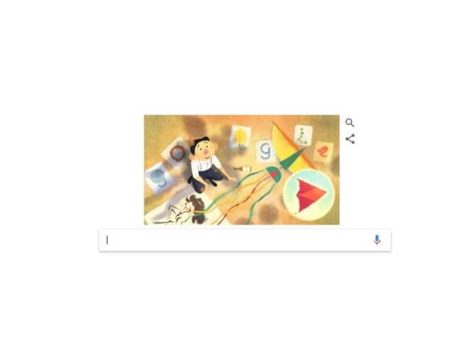 Google Doodle honours famous artist Tyrus Wong on 108th birthday
