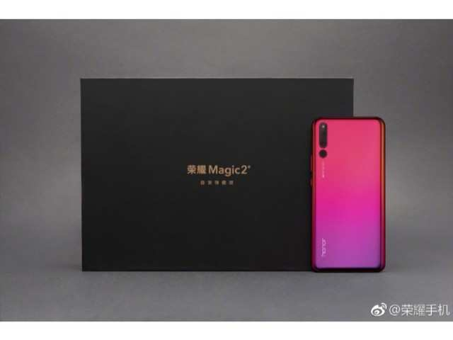 Honor Magic 2 fresh renders reveal its colour variant, to come in Silver, Pink and Blue