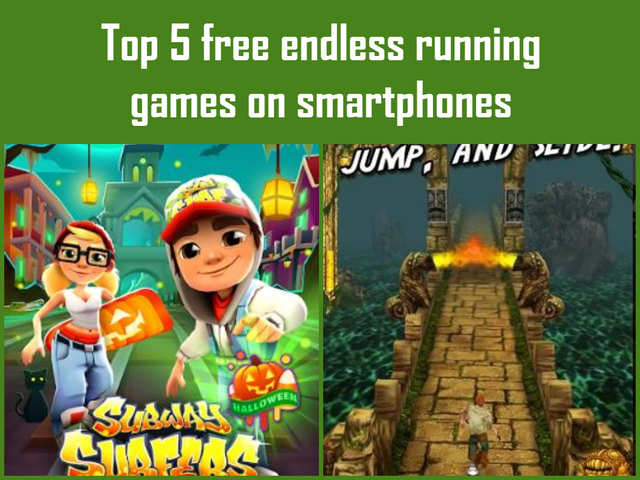 Top 5 free endless running games on smartphones