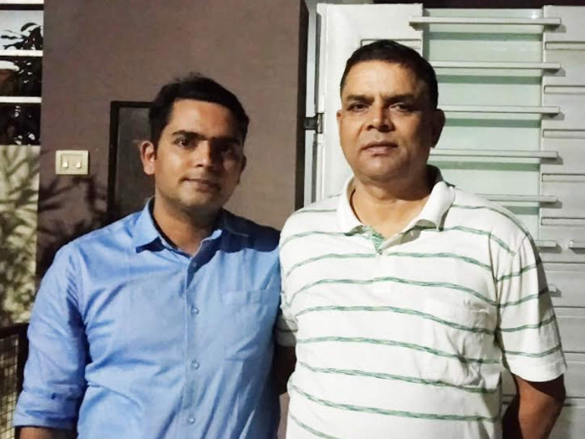 In saluting IPS son as boss, Lucknow constable swells with pride   Lucknow  News - Times of India