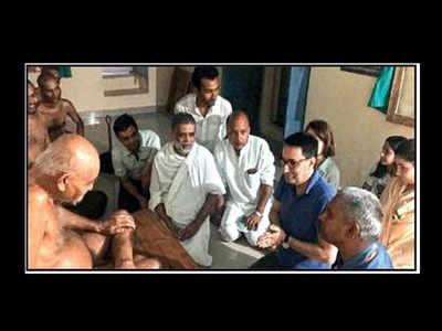 French diplomat vows to turn veggie after meeting Jain muni