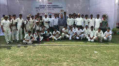 Cricket championship organised at a Bareilly college