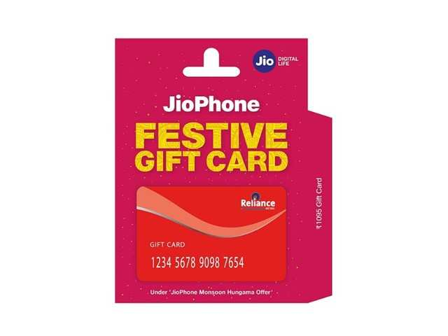 Reliance JioPhone gift card launched: Here's all you can do with it