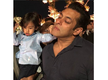 Photo: This cute moment of Salman Khan and his nephew Ahil Sharma will lift your mood!