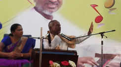Ilaiyaraja offers some valuable advice to a student