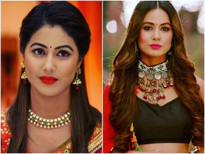 Hina Khan dressed as a beautiful bride in latest video will remind you of Akshara from YRKKH