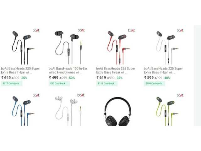 2957771f38e Paytm Maha Cashback Sale: Discounts up to 68% on boAt headphones and  speakers