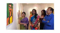 Kalki Subramaniam explains her 'Mohini' art work