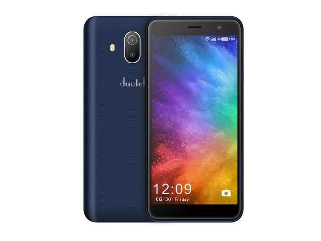 Ziox Mobiles launches Duotel D1 smartphone, priced at Rs 5,399