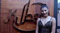 Nehal Chudasama's glam BTS photoshoot with Navin Dhyani