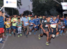 Runners participate in practice run for city-based Marathon