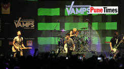 When The Vamps said it is our first visit to Pune