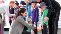 Meghan Markle's emotional reunion with fan