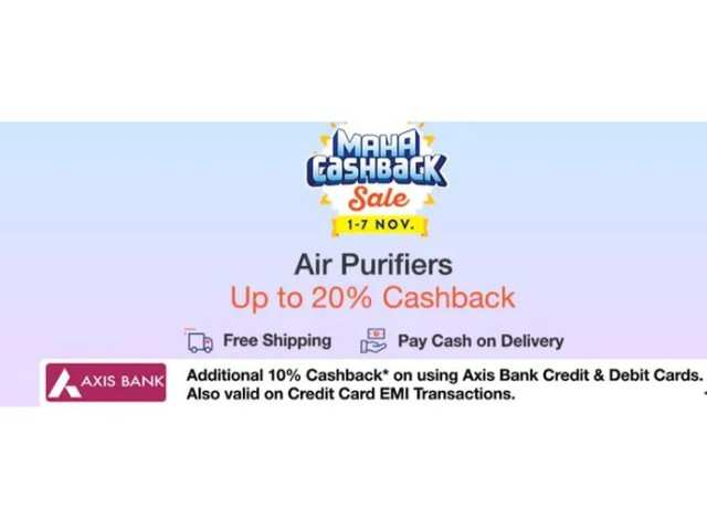 Paytm Mall Maha Cashback sale: 6 air purifiers you can buy under Rs 20,000