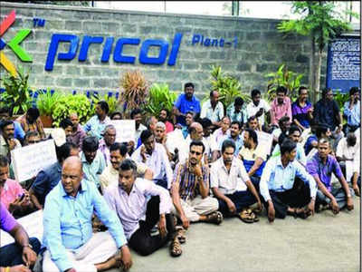 Pricol workers stage protest as strike enters 75th day