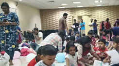 Progressive Techies organise art camp for kids