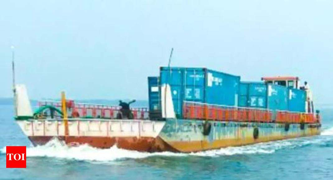 PM to greet India's first container vessel on inland