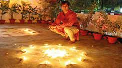 Nandish Singh: My Diwali celebrations just got brighter celebrating it with underprivileged kids in Lucknow