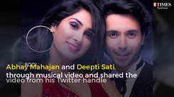 "Abhay Mahajan and Deepti Sati give us ""couple goals"""