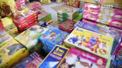 Cracker sales in Coimbatore ahead of Diwali