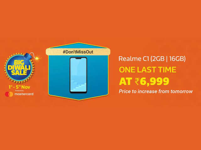 Here's your last chance to buy Realme C1 at Rs 6,999
