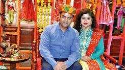 Kanpurites have a gala time at a Rajasthani theme party