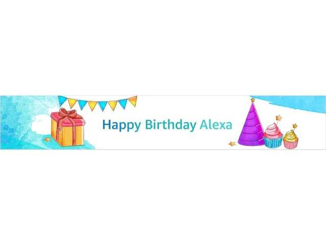 Amazon has gifts for you on Alexa's 4th birthday